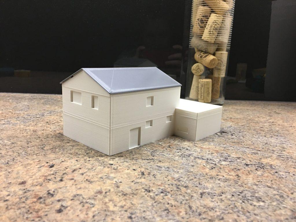 3D model - finální - sever
