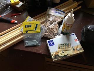 Materiál a nástroje na výrobu dětské zábrany