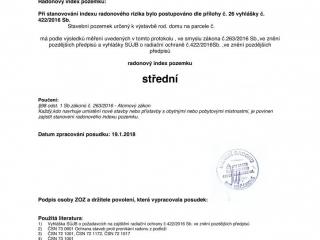 Protokol o měření radonu str. 6