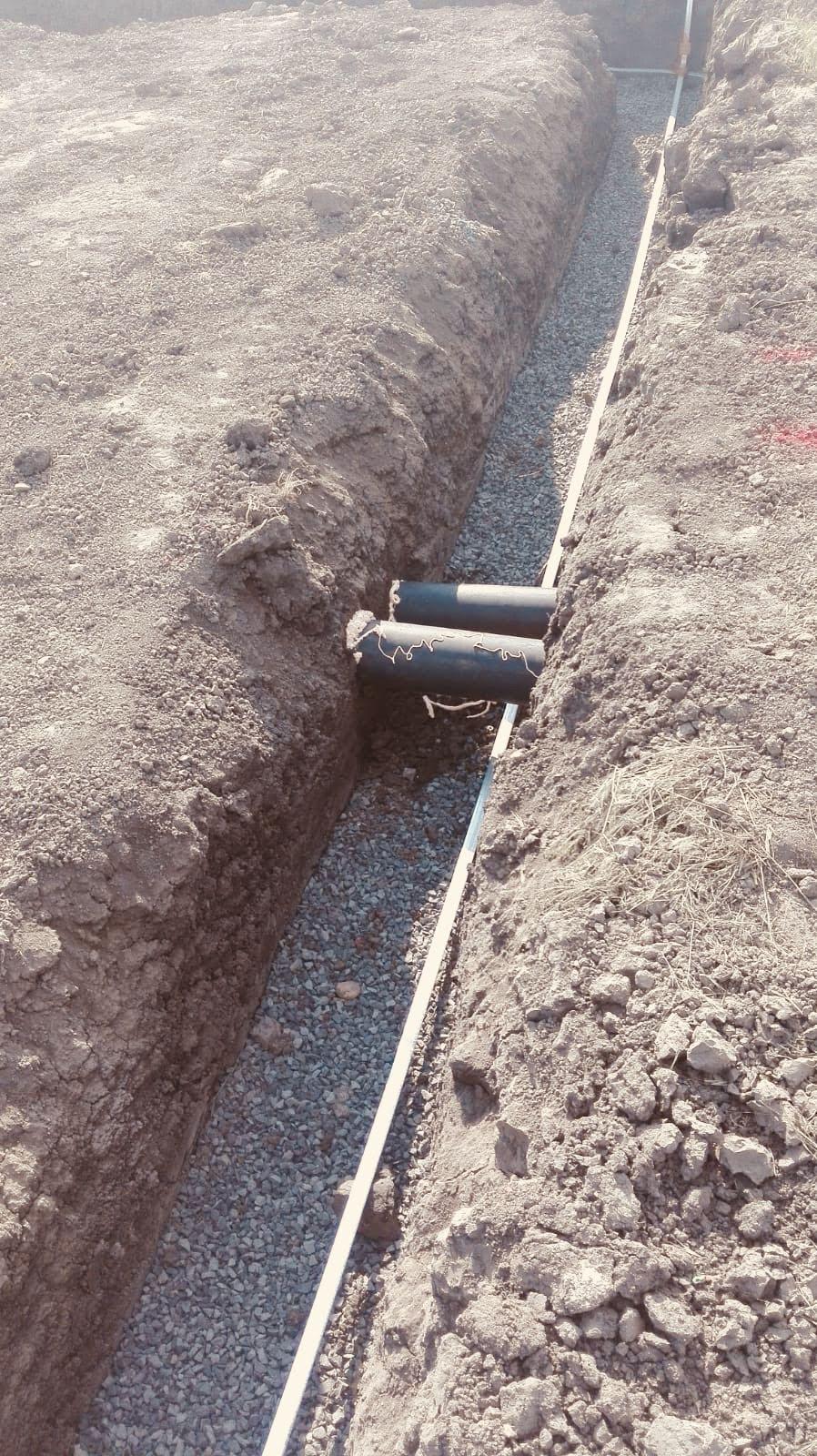 Prostupy pro kanalizaci a dešťovou vodu